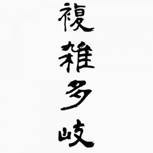 複雑多岐(ふくざつたき) - 四...